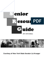 Sen. Krueger's Senior Resource Guide