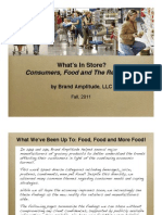 Whats in Store-Consumers Food and the Recession 090711