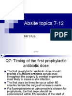 Absite Review Q3-4