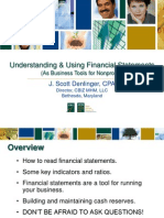 Understanding & Using Financial Statements (As Business Tools for Nonprofits)