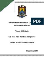 Monografia Teoria Del Estado