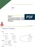 Clase 7 - Corte Puro - Torsión Uniforme - Trans Pot V250505