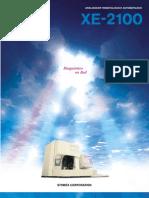 XE-2100 Spanish Brochure