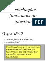 Pertubaçoes Funcionais Do Intestino