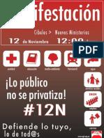 manifestacion 12N