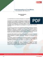 Retos de Innovacion en Mexico