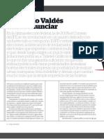 Leonardo Valdés debe renunciar