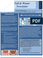 Fall Winter 2011 Newsletter 2