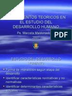 Fundamentos Teoricos en El Estudio Del Desarrollo Humano