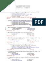 100 Board Exam- Physio