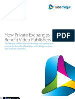 TubeMogul Private Exchange White Paper
