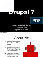 "Drupal 7 by Angela ""webchick"" Byron"