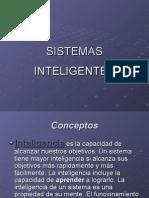 Sistemas Inteligentes Conceptos Aplicaciones