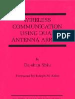 Wireless Communication Using Dual Antenna Arrays