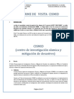 Informe de Visita Cismid
