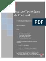 Investigacion de Los Sistemas Contables de Las Dependencias Gubernamentales