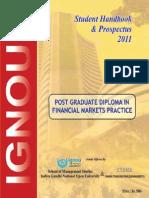 Post Graduate Diploma in FMP (2011)
