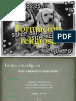 Formación religiosa