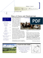 Eastern Youth Newsletter