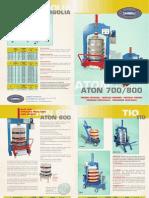 Zambelli Presses Brochure