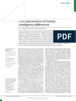 The Neuroscience of Human Intelligence Differences