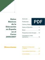 Datos y Cifras Curso 2006-2007