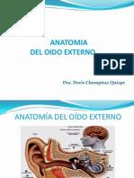 5º Oido Externo - Anatomia, Fisiologia y Patologia