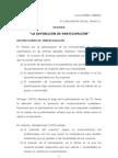 DEFINICION DE PARTICIPACION