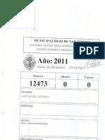 Presupuesto 2012 - Cuerpo 0 - Parte 1