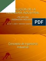 Evolucion de La Ingenieria Industrial