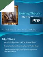 Martha Rogers Theorist