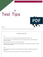 PTEAcademic_TestTips