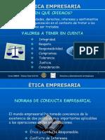 diapositiva etica empresarial