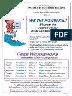 2011 Flyer Kauai Workshops