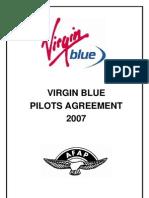 Virgin Blue Pilots EBA 2007