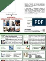 Serviços para Empresas de Comércio Máquinas e Equipamentos