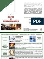 Serviços para Cafés e Restaurantes
