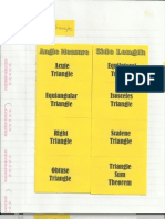 Geometry Interactive Notebook 4-1