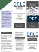 DRLC's Orange County Health Care Access Project