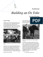Building an Ox Yoke Tech Guide