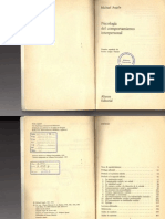 1972 Psicologia Comport a Mien To Personale Argyle001