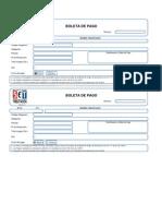 Boleta de Pago Excel 2003 v. 1.0