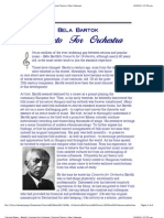 Classical Notes - Bartok's Concerto for Orchestra, Classical Classics, Peter Gutmann