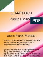 Chapter 11 - Public Finance