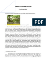 ekosistem ekologi
