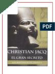 El Gran Secreto Los Misterios de Osiris 4 -Christian Jacq