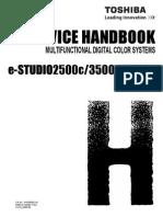 E-Studio 2500c, 3500c, 3510c Service Handbook