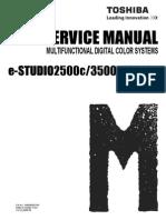E-Studio 2500c, 3500c, 3510c Service Manual