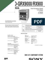 HCD-GRX9000
