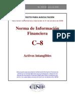 NIF C8 Activos Intangibles